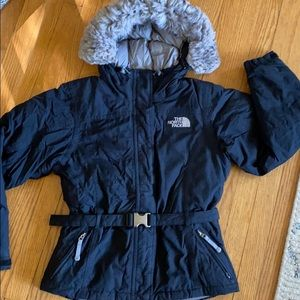 North Face 550 down coat